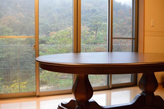 テーブル天板磨き直し修理