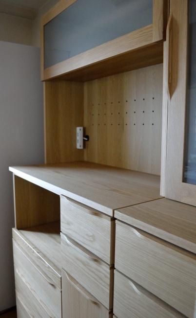 オーク材キッチンボード 神戸カチートファニチャー