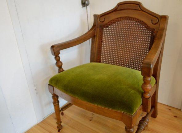 籐の椅子の張替え修理