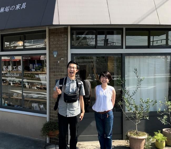 イスワークスの山上さんが神戸訪問