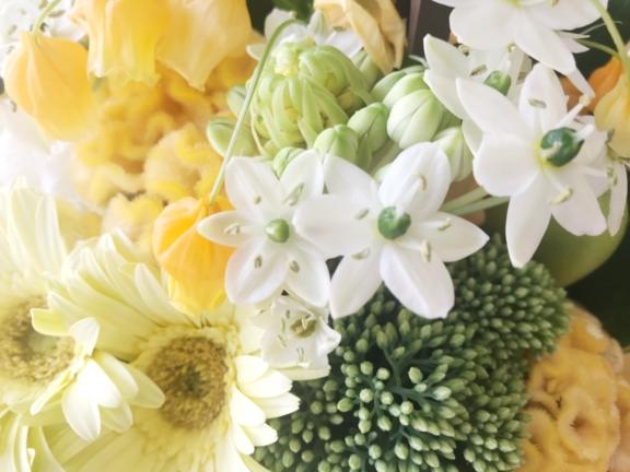 カチートファニチャー6周年の祝い花
