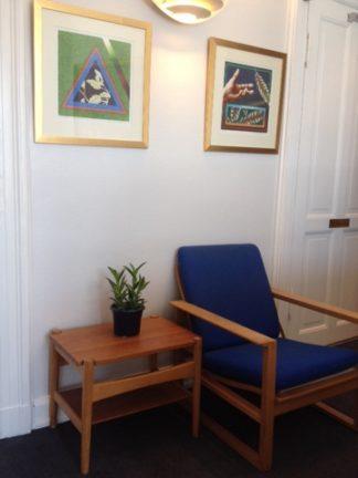 ホテルアレクサンドラのデンマーク家具