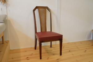 マルニ木工椅子の張替修理