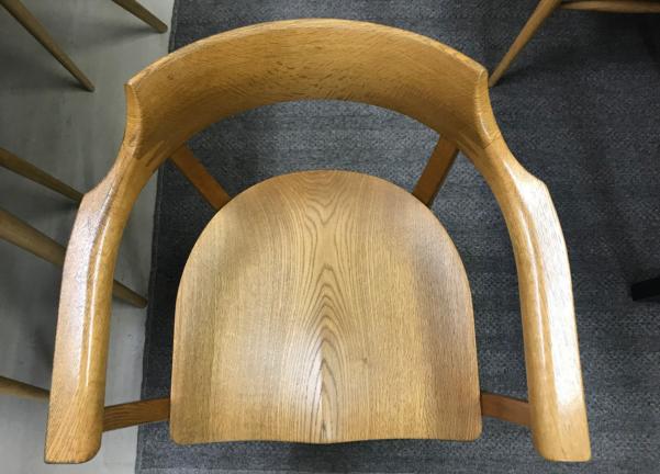 椅子の再塗装 修理前
