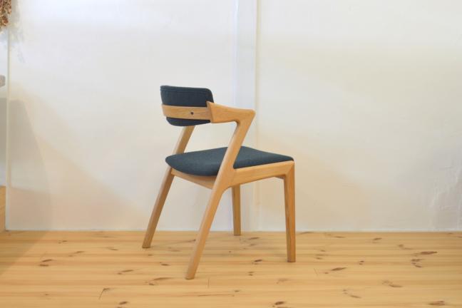 ハーフアームの椅子