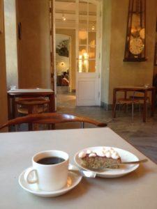 デンマークデザインミュージアムのカフェ