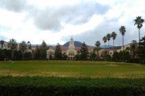 関学の中央芝生