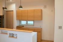 吊り戸棚のオーダーキッチンボード
