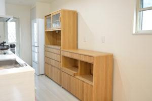 木製キッチンボード
