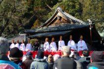 神戸の餅撒き
