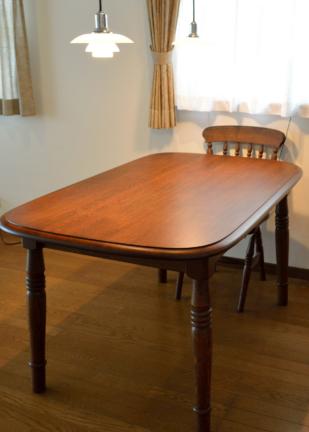テーブル修理