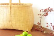 清水貴之の竹細工の竹籠