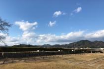 篠山城の空