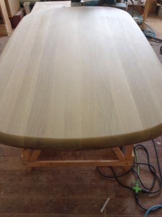 テーブル修理過程