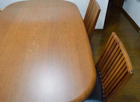 テーブルと椅子の修理